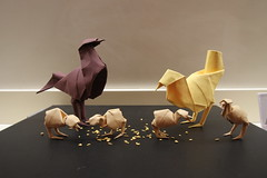 Paper Origami 121 Photos | Aves de papel | 875
