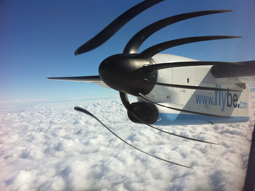 Cool Plane Propellers : Call it rolling shutter or focal plane looks