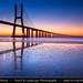Portugal - Lisbon - Lisboa - Ponte Vasco da Gama at Rio Tejo at Dusk - Twilight - Blue Hour - Night by © Lucie Debelkova / www.luciedebelkova.com