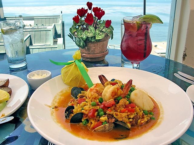 Photo:Seafood Paella - Sunday Brunch - Geoffrey's Malibu By Al_HikesAZ