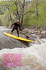 First Female SUP descent down the Boulder Creek