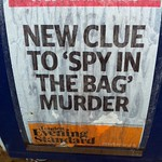 "New Clue To ""Spy In The Bag"" Murder"
