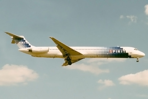 Spirit MD-81 N818NK