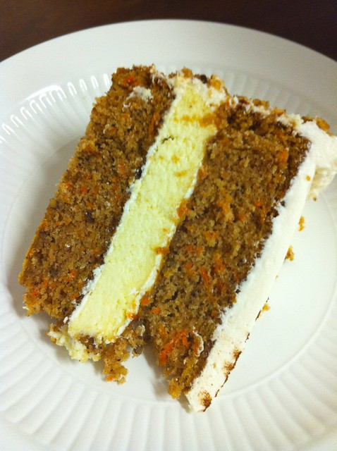 Layer Carrot Cake With Cream Cheese Icing