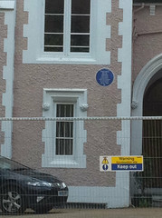 Photo of Thomas Ellis Owen blue plaque