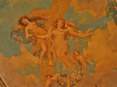 Grey Towers Castle (1893) – ceiling fresco