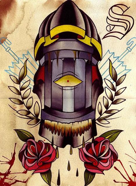 Short north tattoo for Charlie cu tattoo