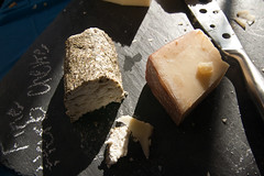 Cheese Plate Slate Chalk Food Macro January 23, 20111