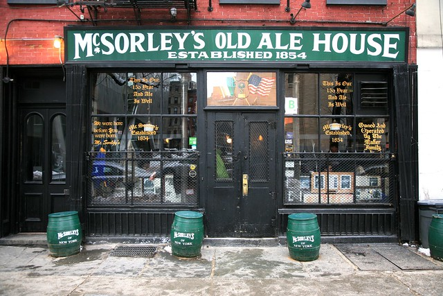 New York City, East Village, McSorley's Old Ale House. Est.1854