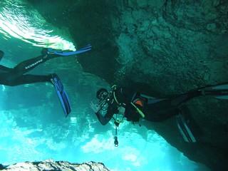 La inmersión es una gozada en cada metro