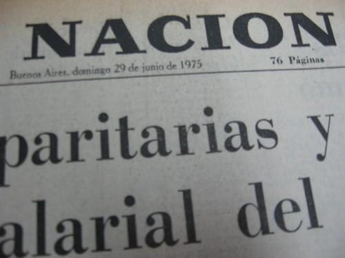 Diario La Nación 29/06/1975 II