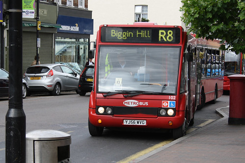 Go-Ahead London 102 YJ56WVG
