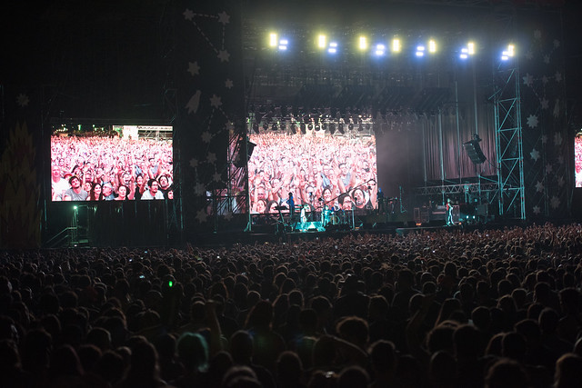 Público Depeche Mode, Bilbao BBK Live 2017