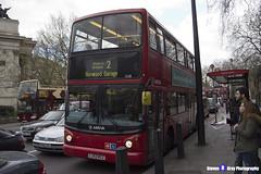 Volvo B7TL Transbus ALX400 - LJ53 BCZ - VLA26 - Arriva - Norwood Garage 2 - London 2017 - Steven Gray - IMG_9161