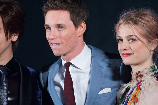 Photo:Fantastic Beasts and Where to Find Them Japan Premiere Red Carpet: Eddie Redmayne & Alison Sudol By Dick Thomas Johnson