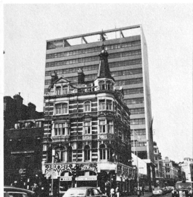 St Martin's Lane pub c. 1973