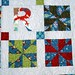 Close-up of Reiley's Quilt by maricopafabrics/Jamie