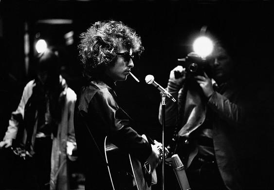 Bob Dylan, by Jean-Marie Perier
