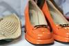 Angels wanna wear my orange shoes