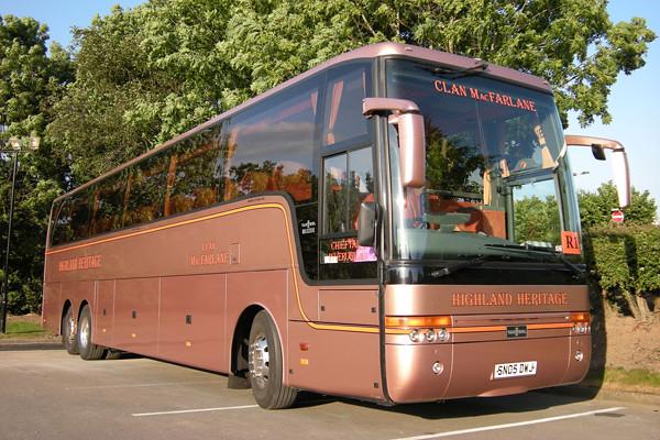 Van Hool Alizee Volvo B12B Highland Heritage