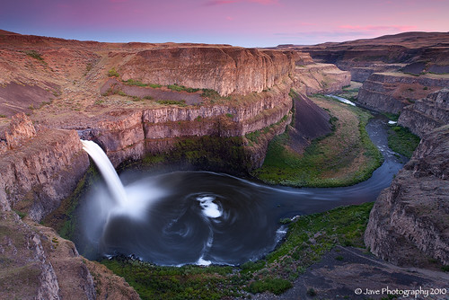 Palouse falls - Washington