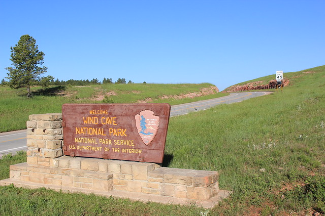 Entrance To Wind Cave National Park Flickr Photo Sharing