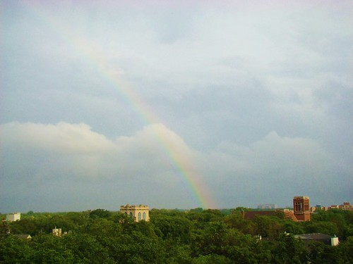 Rainbow over Winnipeg2