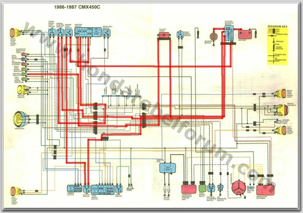 86 Rebel 250 Wiring Diagram Real Honda Cb250 Harness 1985 Download Free Circuit 14