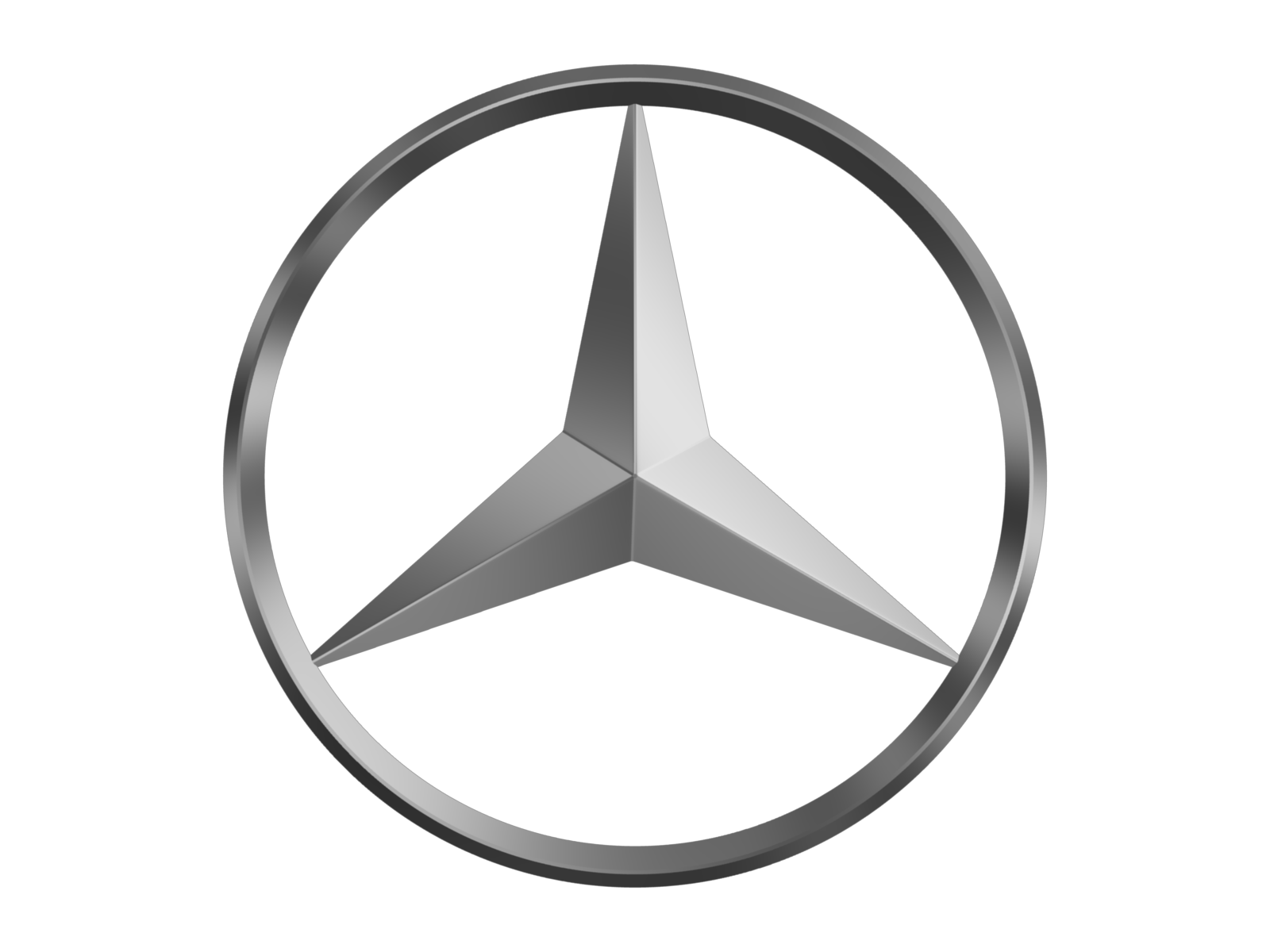 Mercedes three pointed star logo i couldn 39 t find a nice for Mercedes benz star logo