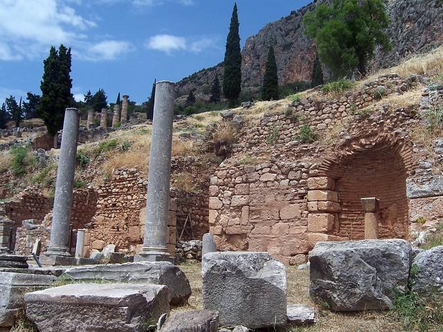 Roman Agora, Delphi