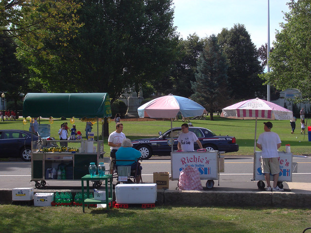 Richie's Slush at Wakefield Common (2010)