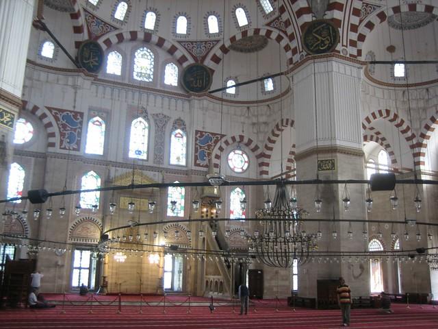 Şehzade Mosque Interior