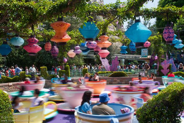 Disneyland Aug 09 - Wandering through Fantasyland