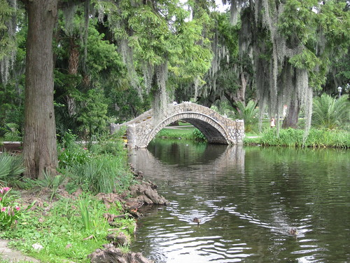 City Park Bayou Bridge