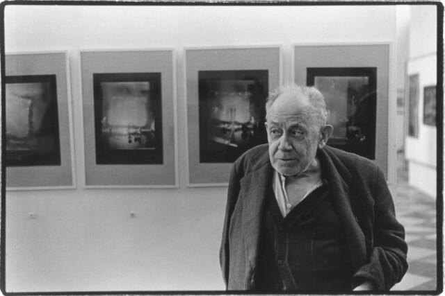 Sudek in Gallery, by Charles Sawyer