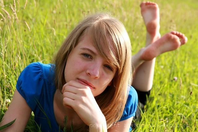 Teen Feet Blonde 46