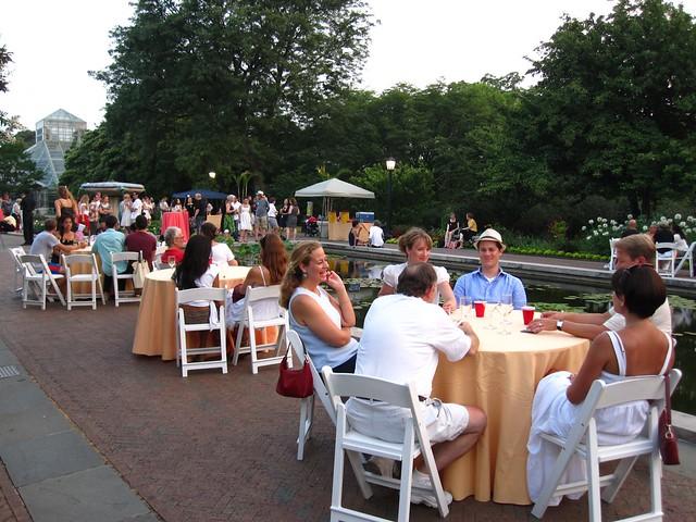 July Garden Cocktail Night 2010. Photo by Rebecca Bullene.