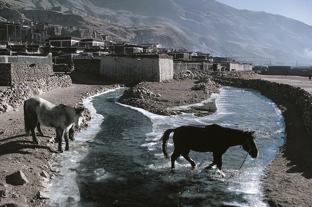 Tibet, by Marc Riboud 1985