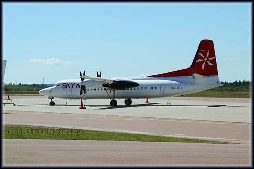 Fokker 50 SE-LEZ Skyways (IMG_5128)