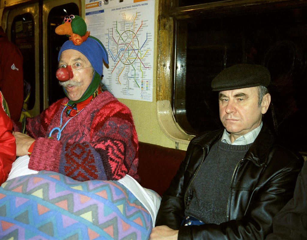 Patch In Metro 2(John Glick/Russia Clown Trip 2004)