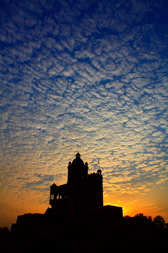 sunset sky india silhouette clouds canon eos evening dusk palace 450d canonefs1855mmf3556is sarangarh aksveer