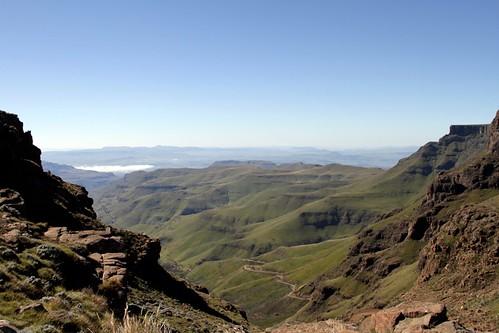 Drakensberg. Sani Pass (RSA-Lesotho)