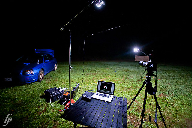 lighting painting - behind the scenes