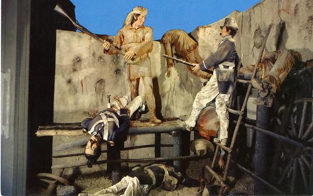 1836 Davy Crockett at the Alamo   Flickr - Photo Sharing! Waxmuseum
