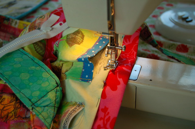 Mixed media sewing