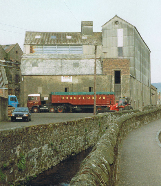 Auchtermuchty Grain Mill, May 1994.