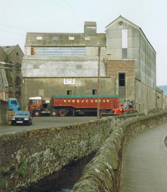 Auchtermuchty Grain Mill, May 1994.