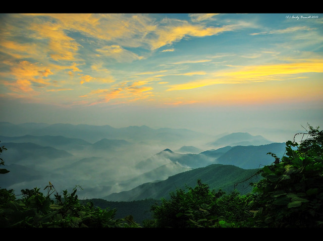 Moganshan View at Sunrise / Zhejiang Province