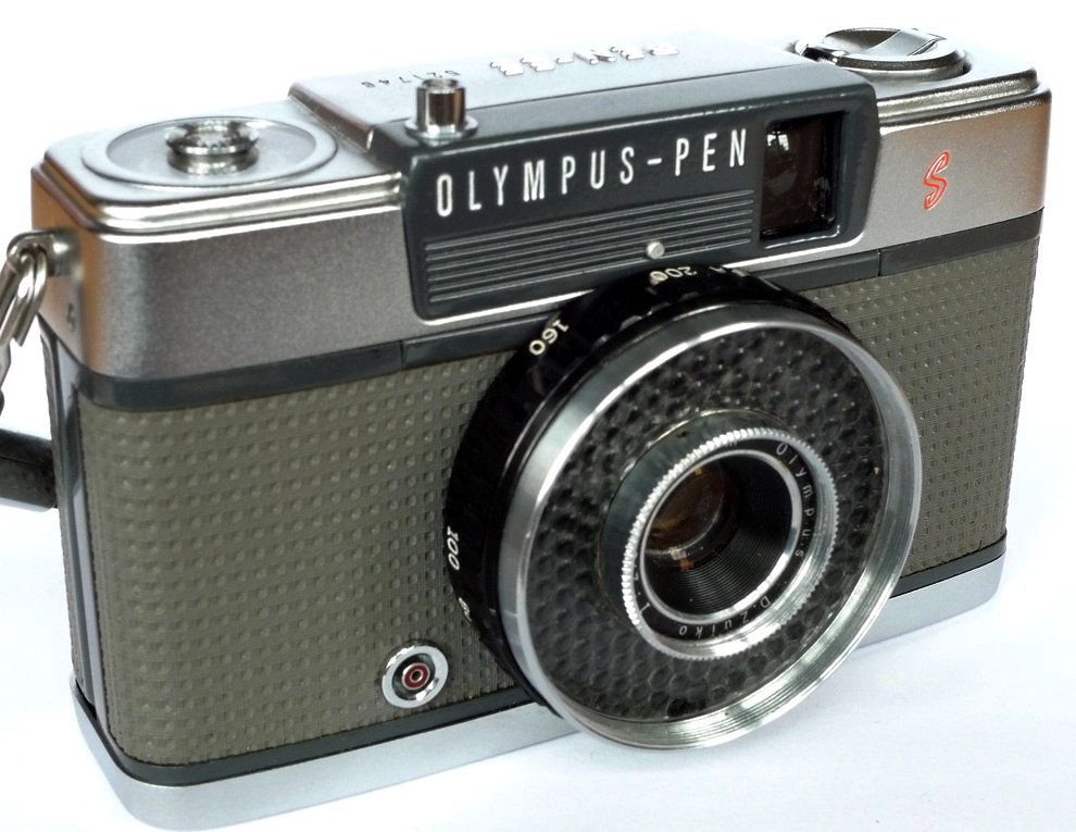 Olympus Pen Ee S 1965 Half Frame Cameras Were In Vogue