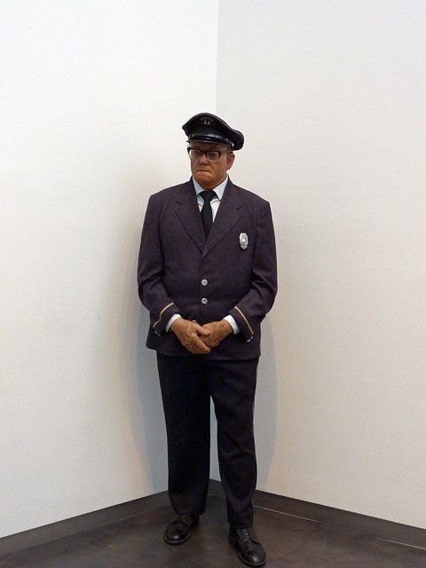 Museum Guard By Duane Hanson Flickr Photo Sharing